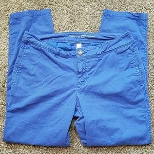 Gap Khakis Vintage Rolled Crop Blue